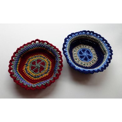 Small Tapestry Basket