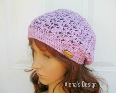 Lace Slouchy Beanie