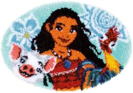 Vervaco Moana Shaped Rug Latch Hook Kit