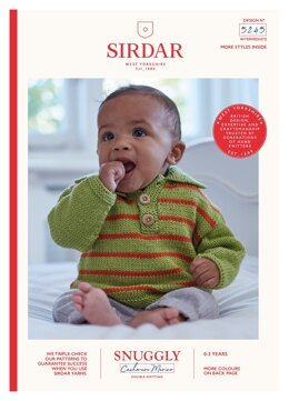 Sweaters in Sirdar Snuggly Baby Cashmere Merino DK - 5245 - Downloadable PDF