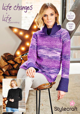Sweaters in Stylecraft Life Changes & Life DK- 9540 - Downloadable PDF