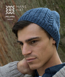 Hans Hat in MillaMia Naturally Soft Aran - Downloadable PDF