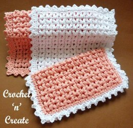 Puff Stitch Washcloth