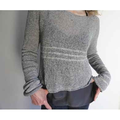 Cloud Stripe Sweater