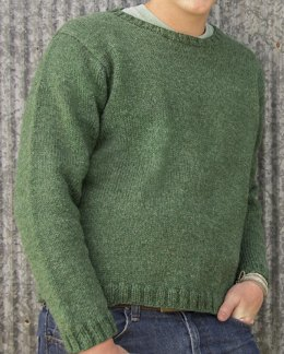 Glasgow Top-Down Pullover #105