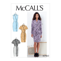 McCall's Misses' Dresses M7863 - Sewing Pattern