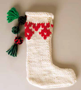 Christmas Stocking in Rico Essentials Super Super Chunky