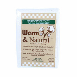 Warm Company Batting Warm & Natural Cotton 45in x 60in