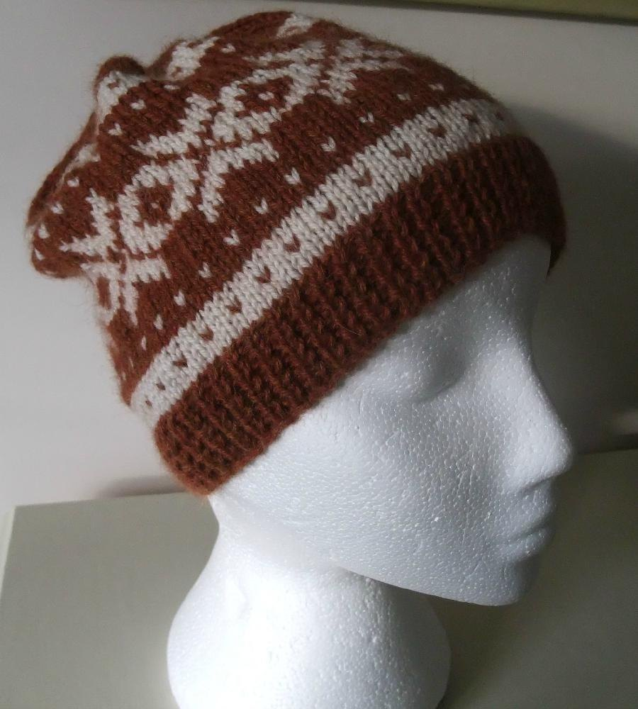 Nordic Headband Knitting Pattern : Nordic Ladies Beanie Knitting pattern by Buzybee ...