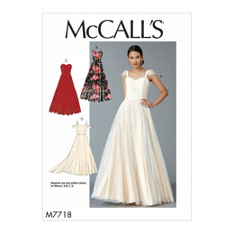 McCall's Misses' Dresses M7718 - Sewing Pattern