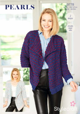Jackets in Stylecraft Pearls - 9778 - Downloadable PDF
