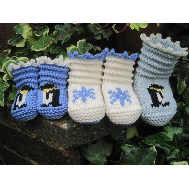 Winter Booties for Babies
