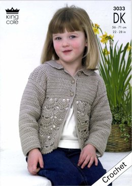 1431f01d23ef4d Cardigan and Sweater King Cole Smooth DK - 3033