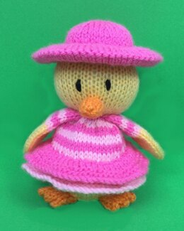 Cherry the Chic Easter Chick
