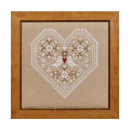 Historical Sampler Company Love Birds Cross Stitch Kit