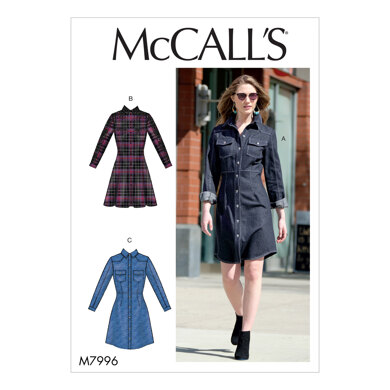 McCall's Misses' Dresses M7996 - Sewing Pattern