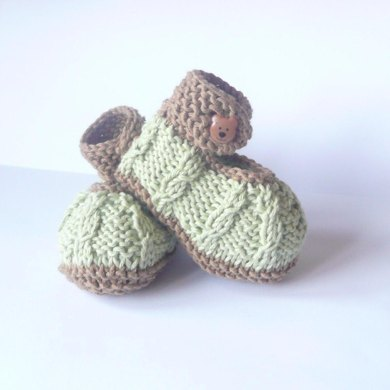 Mini Minty Baby Shoes