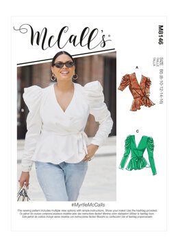 McCall's Misses' & Women's Tops M8146 - Sewing Pattern