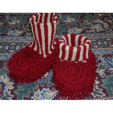 Dust Mop Slippers-Adult