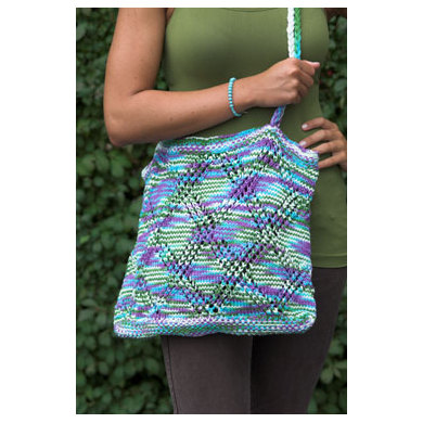 Tote in Plymouth Yarn Fantasy Naturale - 2287 - Downloadable PDF