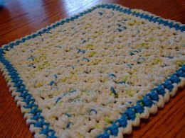 Corner 2 Corner Crochet Dishcloth
