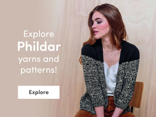 Explore Phildar yarns and patterns!