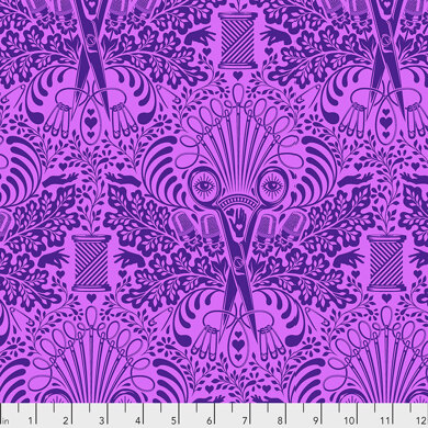 Tula Pink HomeMade - Getting Snippy in Night -