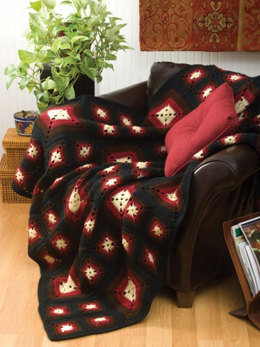 Today's Granny Afghan in Caron One Pound - Downloadable PDF