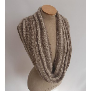 Linen and Purl Cowl