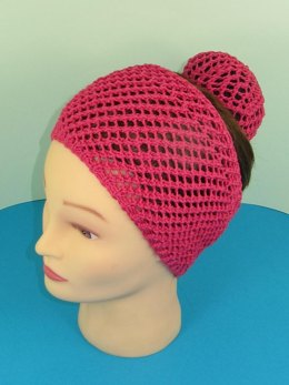 Ballerina Wide Easy Lace headband and Bun Cover