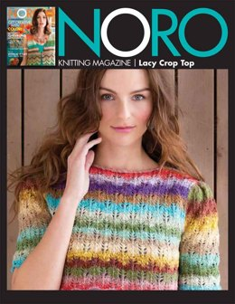 Lacy Crop Top in Noro Taiyo Sport - 01 - Downloadable PDF