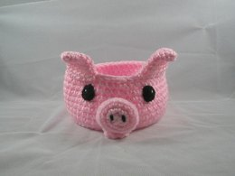 Pig Bowl / Container Pattern