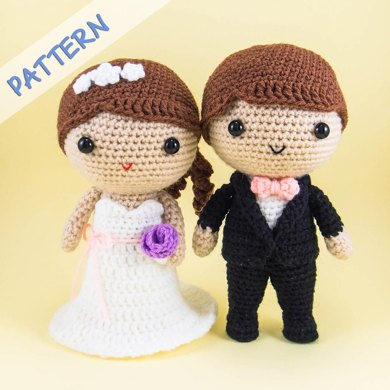 Bride and Groom Amigurumi