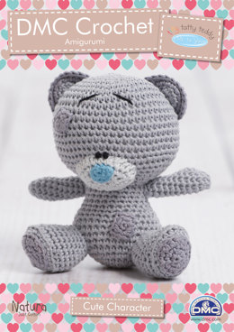 Cute Tiny Tatty Teddy Character Toy in DMC Natura Just Cotton - 15283L/2