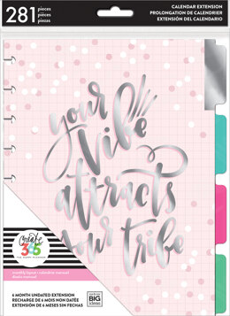 Me & My Big Ideas Happy Planner 6-Month Undated Medium Planner Extension Pack - Your Vibe