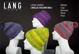 Mütze in Lang Yarns Mille Colori Big