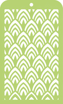 "Kaisercraft Mini Designer Templates 3.5""X5.75"" - Arc"