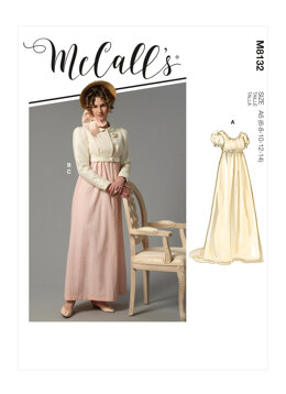 McCall's Misses' Costume M8132 - Sewing Pattern