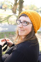 The Teach-Your-Friend-How-To-Knit-A-Hat Hat