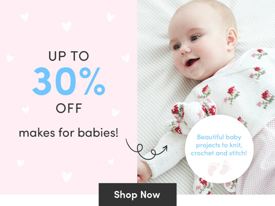 Up to 30 percent off makes for babies!