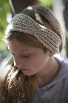 Headband with a Twist