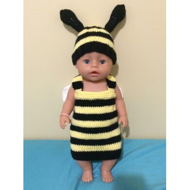 Adorable Bumble Bee Newborn Baby Outfit Pattern