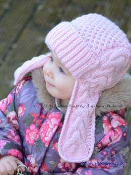 Winterberry Earflap Hat
