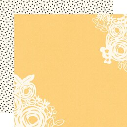"""Simple Stories So Happy Together Double-Sided Cardstock 12""""X12"""" 25/Pkg - Happy Heart"""
