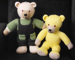 """14"""" Teddy Bear completed with wardrobe"""