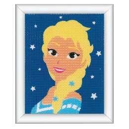 Vervaco Long Stitch Kit: Disney: Frozen - Elsa - 16 x 12.5cm