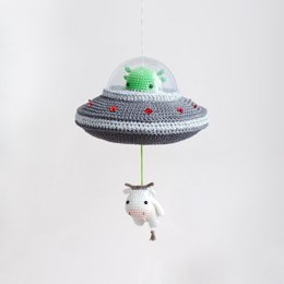 Lalylala Flying Saucer Musical Toy