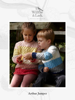 Arthur Jumper in Willow & Lark Nest - Downloadable PDF