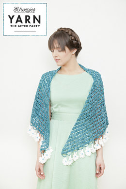 Yarn, The After Party: Daisy Shawl in  Scheepjes Sunkissed and Cotton 8 - 02 - Downloadable PDF