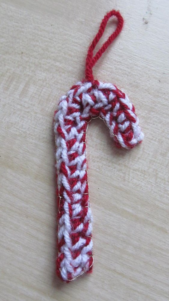 Candy Cane Crochet Pattern By Snowfall And Sunrise
